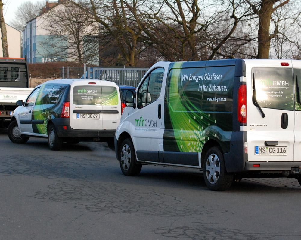 Portfolio Fahrzeug-Beklebung mih GmbH